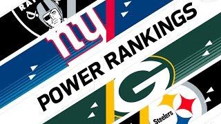 Week 10 Power Rankings | NFL Now