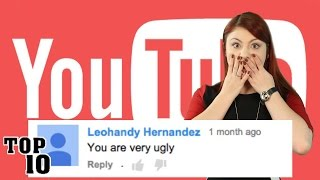 Top 10 Meanest Youtube Comments