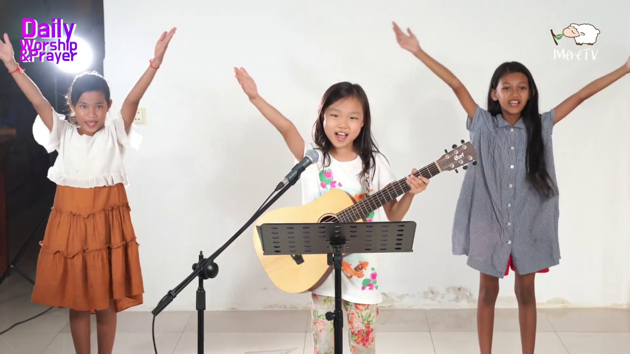 #191 「Khmer」 Daily Worship Live  [05-Feb-2020] - (Ha-Young Ver.9 Years Old)