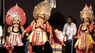 Yakshagana - Karna parva - Saligrama mela - Prasanna , Manki , Gaonkar