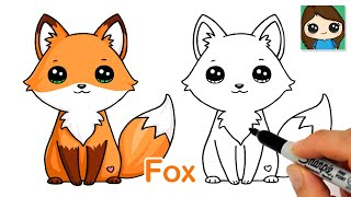 How to Draw a Cute Fox Easy New