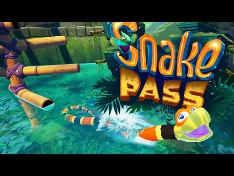 Snake Pass Gameplay - Diving Into The Water Levels - World 2! - Let's Play Snake Pass Part 2