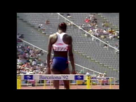 3870 Olympic Track & Field 1992 Heptathlon Long Jump Jackie Joyner-Kersee
