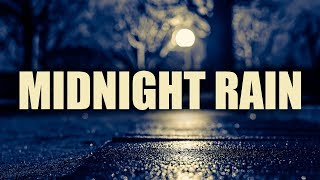 """""""Midnight Rain"""" • 3 Hours Rain and Smooth Jazz • Best Relaxing Smooth Saxophone Relax Music"""