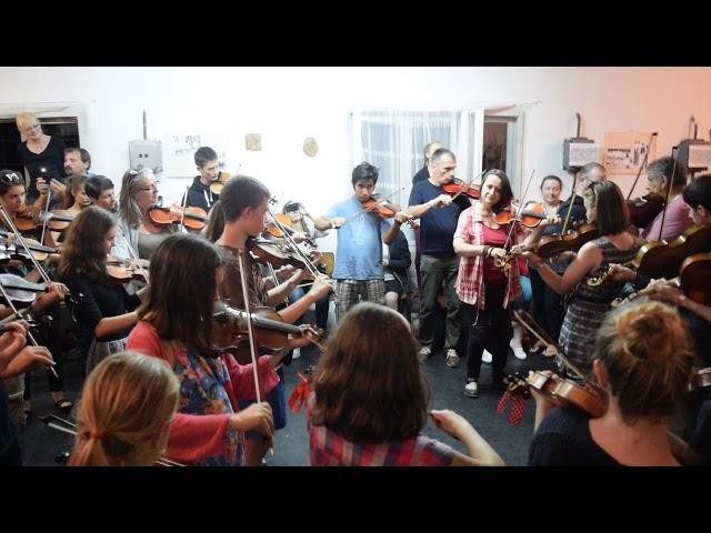 Métatábor 2018 - Salamon Beáta hegedűsei - Kalotaszegi összehúzás