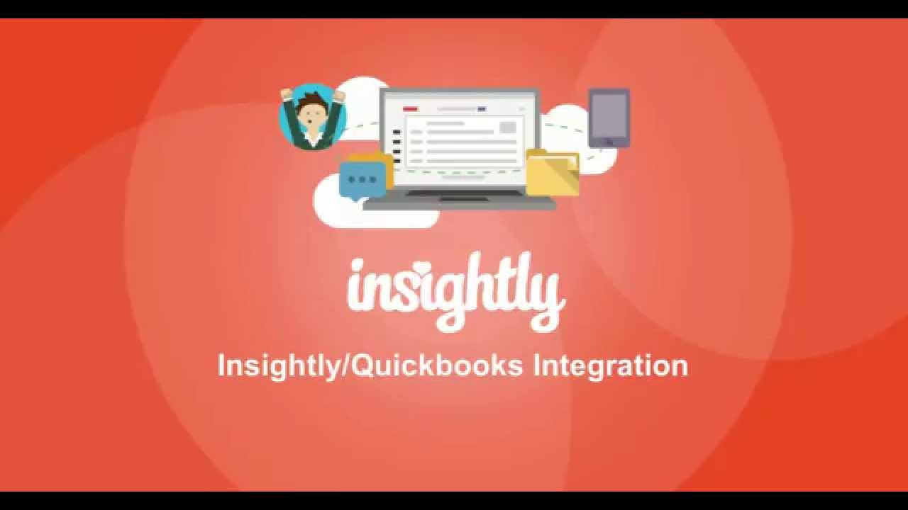 Insightly-QuickBooks Online Integration - YouTube