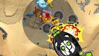Bloons Monkey City Level 21 'MOAB Graveyard' Special Mission - NLL