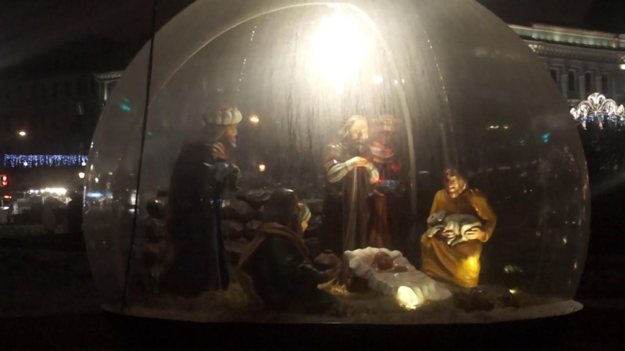 Рождественский вертеп. Казанский кафедральный собор. - YouTube