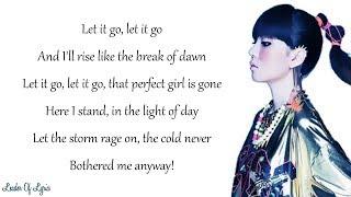 frozen let it go cover by j fla lyrics