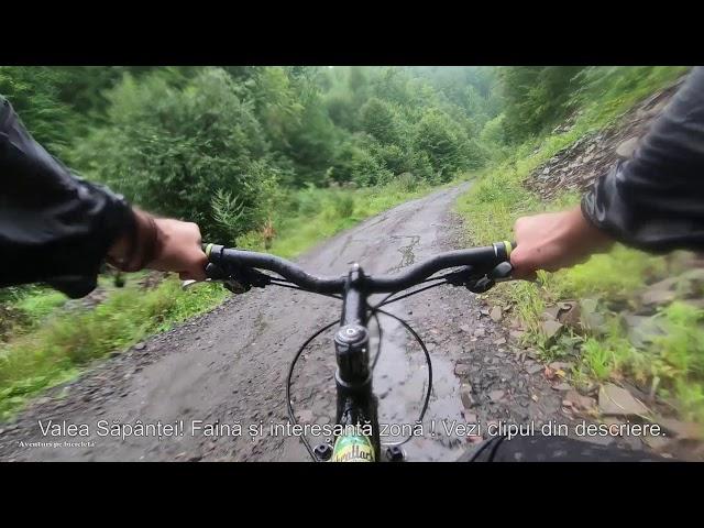 Aventuri pe bicicleta : Pe Paraul Sapanta in jos