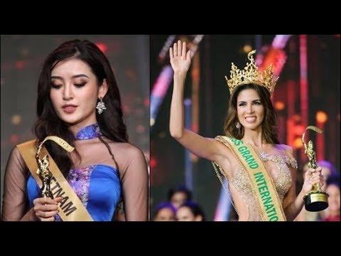 Huyền My gửi lời xin lỗi sau khi trượt top 5 Miss Grand International