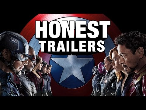 Thumbnail: Honest Trailers - Captain America: Civil War