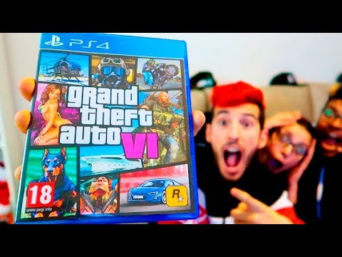 ROCKSTAR ME REGALA GTA 6 POR ERROR!! BROMA A MIS AMIGOS Grand Theft Auto VI ELITE TEAM