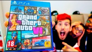 ROCKSTAR ME REGALA GTA 6 POR ERROR!! BROMA A MIS AMIGOS Grand Theft Auto VI ELITE TEAM