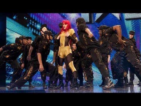 Four Corners dance troupe - Britain's Got Talent 2012 audition - International version