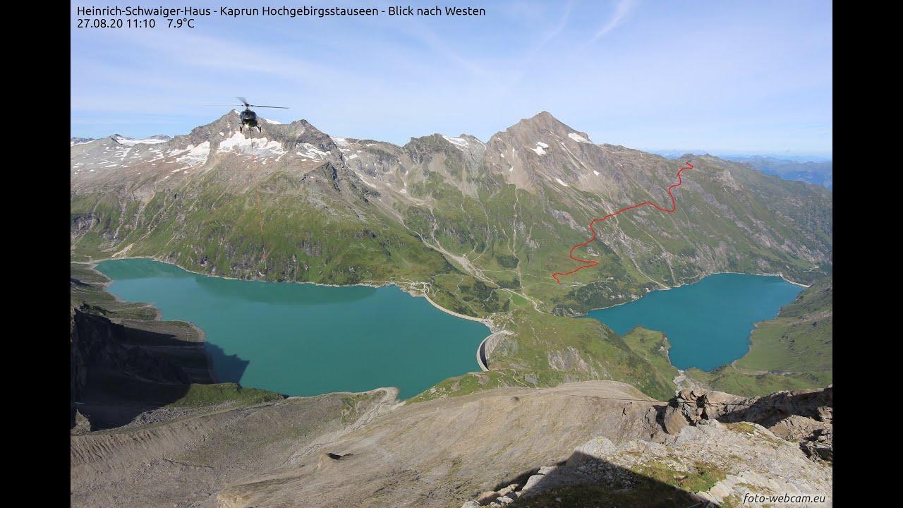 Wanderung am Kitzsteinhorn.