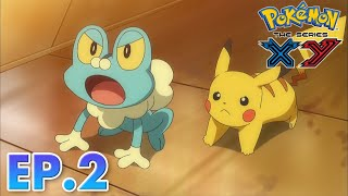 Pokémon the Series: XY  EP02 Lumiose City Pursuit!   Pokémon Asia ENG