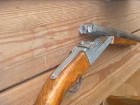 Homemade Double Barrel Shotgun Youtube