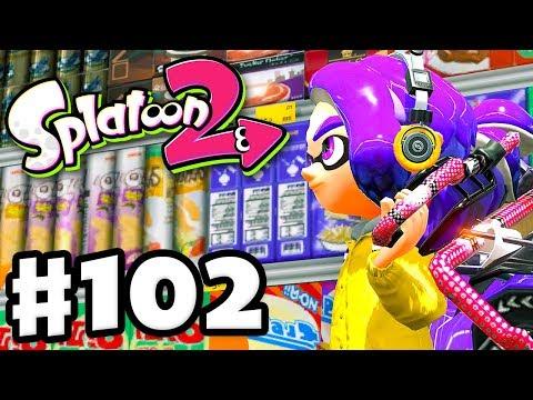 MakoMart! New Map! - Splatoon 2 - Gameplay Walkthrough Part 102 (Nintendo Switch)