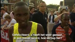 Geoffrey Mutai wint Gala Run in Voorthuizen