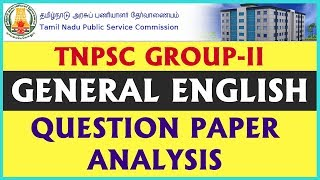TNPSC Group 2 Answer Key 2018 | General English Discussion | We Shine Academy