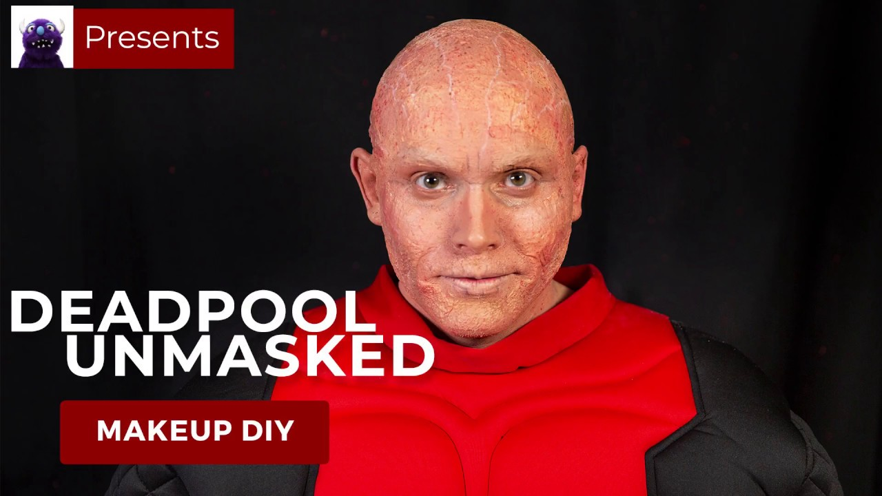 Deadpool Unmasked Makeup Tutorial Youtube