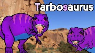 [Subtitle] Tarbosaurus vs Tyrannosaurus    Biggest Asian Dinosaur★Genikids