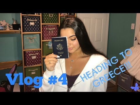 VLOG #4 || Travel Vlog: Greece Bound!!