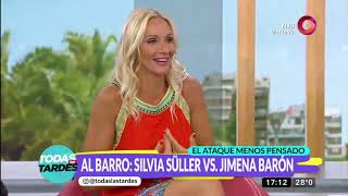 Tremendo cruce entre Silvia Süller y Jimena Barón thumbnail