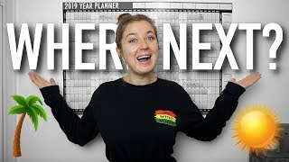 The future of this channel + 2019 travel plans!!