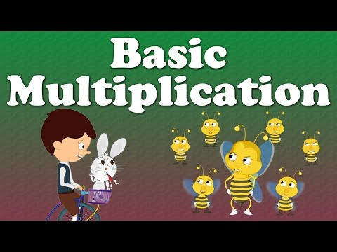 Basic Multiplication for kids | #aumsum #kids #education #science #learn