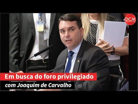 A louca cavalgada de Flávio Bolsonaro para fugir da Justiça