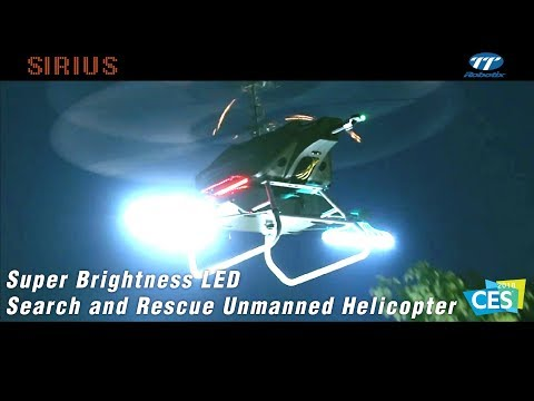 TTRobotix SIRIUS - Super Brightness LED Search and Rescue Unmanned Helicopter