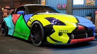 NISSAN 350Z BUILD (SPEEDCROSS) - Need for Speed: Payback - Part 63