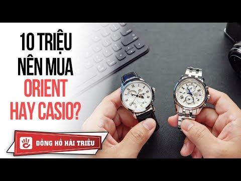 10 Triệu Nên Mua đồng Hồ Orient Automatic Hay Casio Edifice?