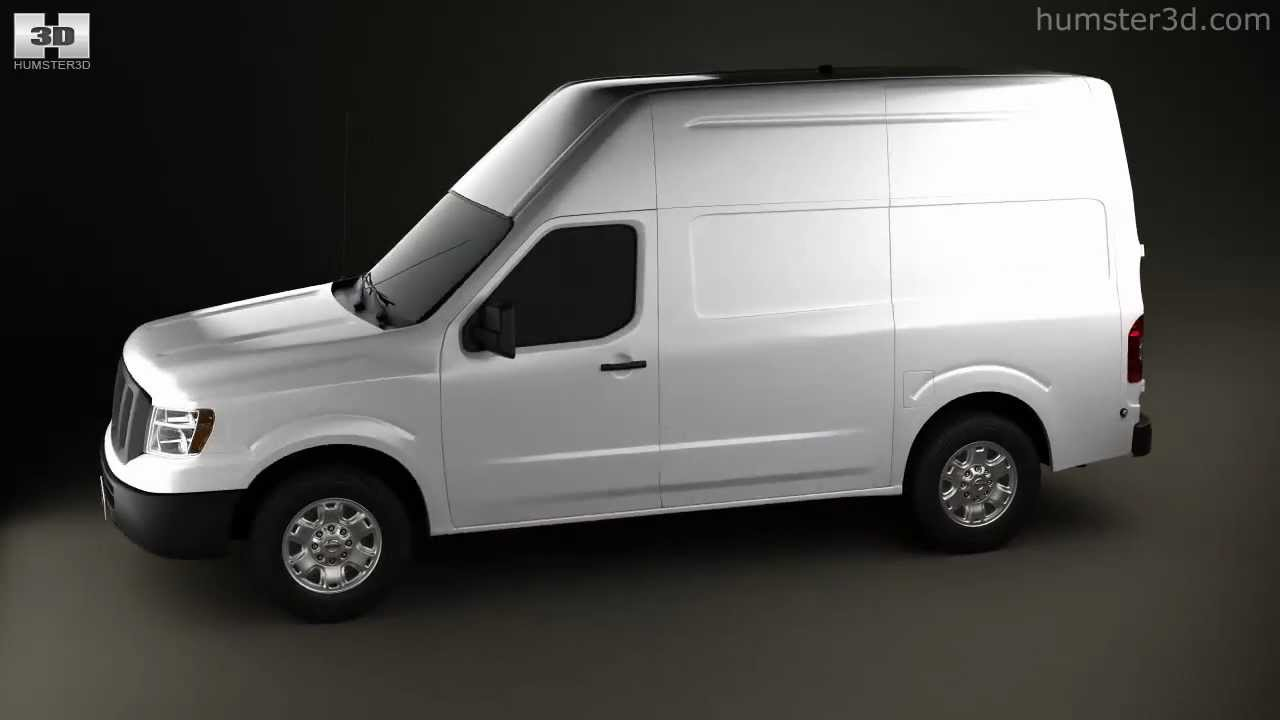 Nissan NV Cargo Van High Roof 2013 By 3D Model Store Humster3D.com   YouTube