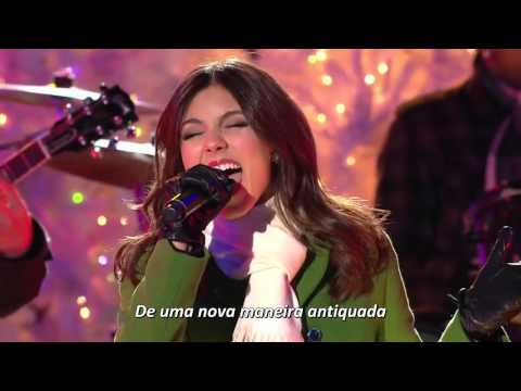 [HD] Victoria Justice - Rockin' Around the Christmas Tree & Jingle Bell Rock