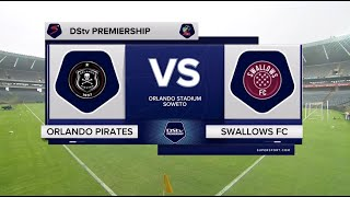 DStv Premiership | Orlando Pirates v Swallows | Highlights