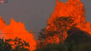 LIVE FEED Kilauea Volcano in Hawaii 5 22 18