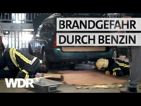 Feuer & Flamme   Benzin läuft im Parkhaus aus   WDR