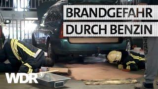 Feuer & Flamme | Benzin läuft im Parkhaus aus | WDR