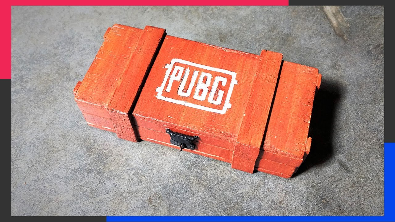 Pubg Mini Loot Crate 10 Steps