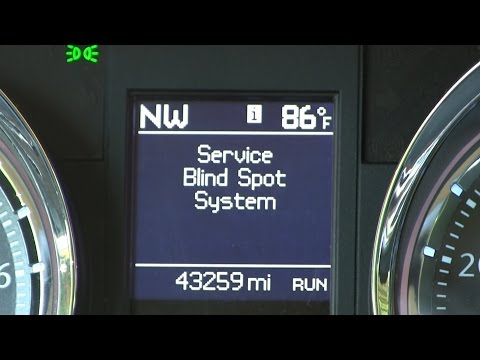 Blind Spot Detection System Repair/Fixed Town and Country Dodge Chrysler