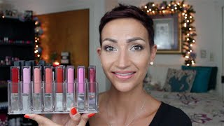 Whitening Lightning Color Your Smile Glosses-Live Swatch & Review