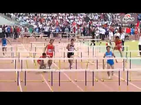 The worst athlete, 110m. hurdles
