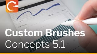 Create your own Brushes in Concepts 5.1