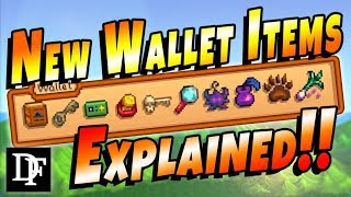 New Wallet Items Explained! - Stardew Valley 1.3