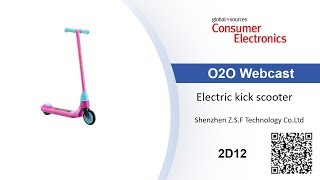 Eco-friendly electric kick scooter for kids - Consumer Electronics show