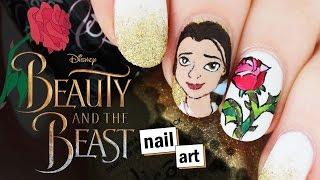♫ Beauty & The Beast Nail Art ♫ | Nailed It NZ