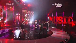 [10Sep'10] G.NA 지나 (Supa Solo 슈파솔로) Music Bank